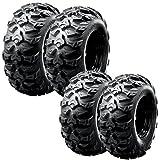 Full Set of 4 SunF A/T M/T UTV ATV Sport Tires 26x9-12 & 26x11-12 6 PR A040