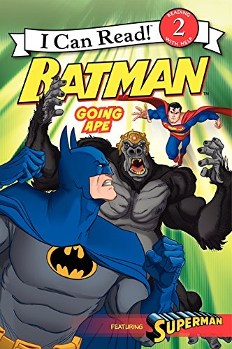 Download Batman Classic: Going Ape (I Can Read Level 2) pdf