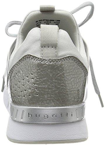 Donna Silver Argento Sneaker 1300 Bugatti 442271646900 zqwapn0C