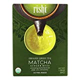 Rishi Tea Organic Green Tea Matcha Ginger Buzz 15 Tea Bags 1 59 oz 45 g