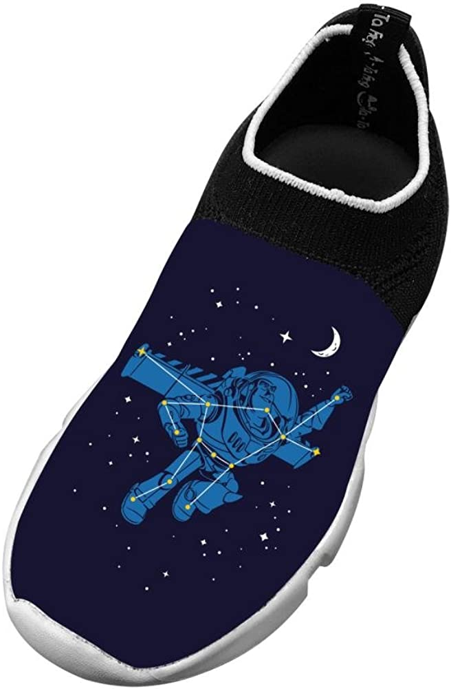 Universal Star New Funny Flywire Weaving 3D Printing Sneakers For Boy Girl