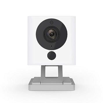 Cámara De Interior Elegante Inalámbrica HD 1080P con Visión Nocturna, Audio Bidireccional, Trabaja con