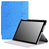 MoKo Microsoft New Surface Pro 2017 Case - Slim Lightweight Smart-shell Stand Cover Case for New Surface Pro 2017 / Surface Pro 4 Tablet, Compatible with Type Cover Keyboard, Cutie Charm BLUE