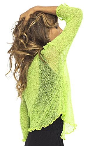 Coprispalle Lime Green Donna From Bali Back 4wIxqSEp1I