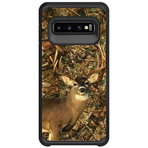 - MINITURTLE Slim Defender for Samsung Galaxy S10 Plus G975U Hybrid Case with TPU Bumper, Protective Case Compatible for Galaxy S10 Plus [Sturdy Hybrid Case] - Deer Hunting Camo