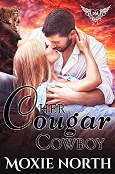 Her Cougar Cowboy: Paranormal Dating Agency by [North, Moxie ]