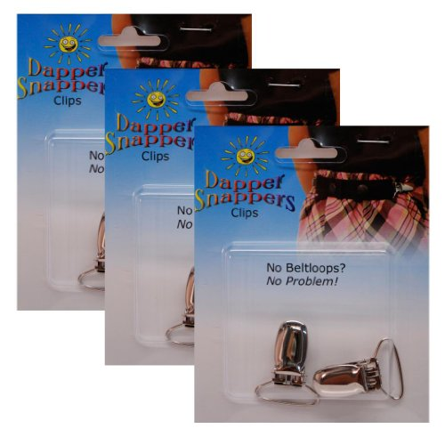 Dapper Snappers Add-On Clips - 6 Count