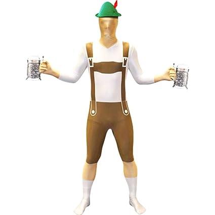Disfraz de Lederhosen Morphsuit: Amazon.es: Juguetes y juegos