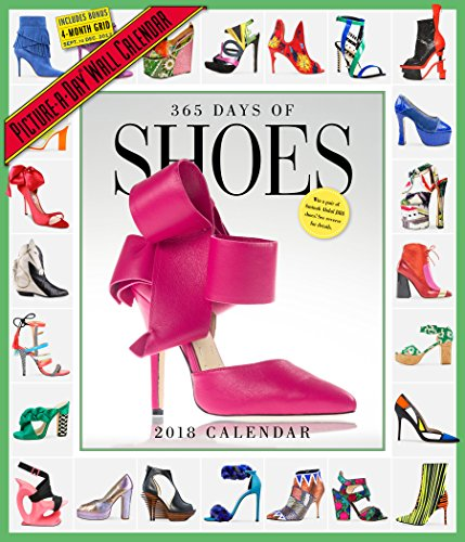 365 Days of Shoes Picture-A-Day Wall Calendar 2018 - 51cgELdlUML - 365 Days of Shoes Picture-A-Day Wall Calendar 2018