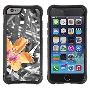 Pulsar Defender Series Tpu silicona Carcasa Funda Case para Apple iPhone 6(4.7 inches) , Plant Nature Forrest Flower 40