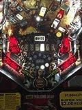 Dark Blood Red Slingshot & Return Lane Protector Set for Stern's The Walking Dead pinball machine