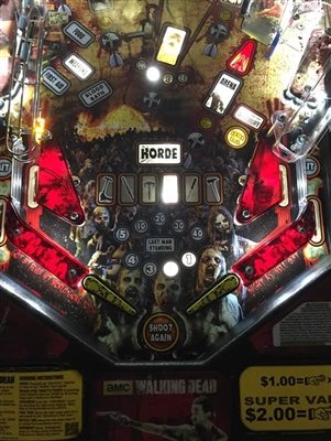Dark Blood Red Slingshot & Return Lane Protector Set for Stern's The Walking Dead pinball machine by ULEKStore