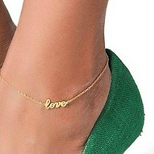 Sandal Ankle Charm Bracelet - 5