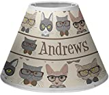RNK Shops Hipster Cats Empire Lamp Shade (Personalized)