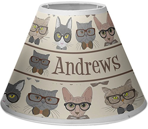 RNK Shops Hipster Cats Empire Lamp Shade (Personalized) by RNK Shops