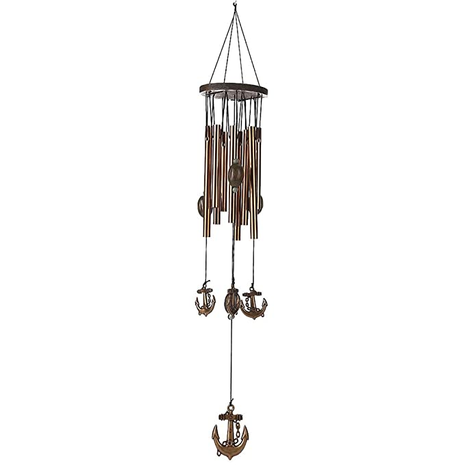 Amazon.com: actlati Retro Ancla Hanging Wind Chime Home Door ...