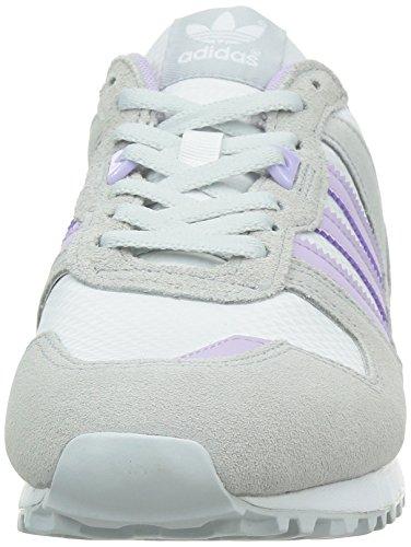 PURPLE ZX W Adidas PURPLE WHITE WHITE Women's 700 GREY GREY fwpq4vXq