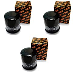 Volar Motorsport Oil Filter.        Features a synthetic filter media.        Designed for ultimate flow with less pressure drop while trap harmful contaminants.        Quantity: 3        Fitment:        2004-2009 Suzuki AN650 BURGMAN ...