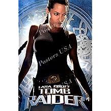 "Posters USA - Lara Croft Tomb Raider Movie Poster GLOSSY FINISH - MOV301 (24"" x 36"" (61cm x 91.5cm))"