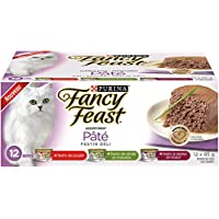 Purina Fancy Feast Pate Deli Supper Wet Cat Food Variety Pack - 85 g (12 Pack)