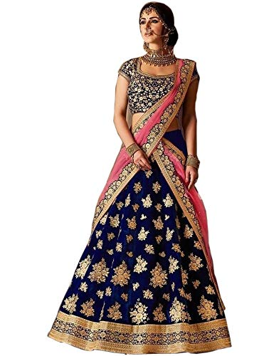 - designer party wear bridal lehenga choli for women trendyculture 0006