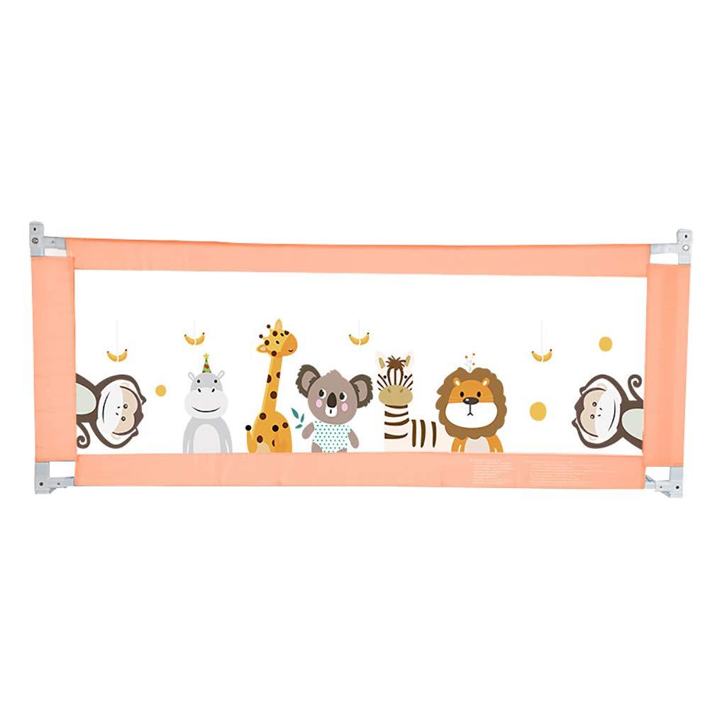 ベビーベッド、ポータブル折りたたみベッドレールのベッドレール幼児の赤ちゃんと子供のためのシングルベッドガード安全保護ガード垂直リフト、ホルムアルデヒド、においなし (色 : Animal, サイズ さいず : 1.5m) 1.5m Animal B07L4QV4JG