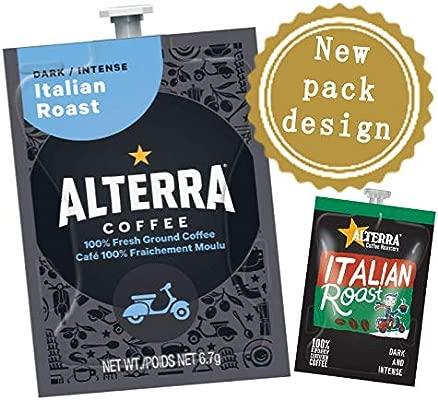 Flavia Italian Roast Coffee 100 Drink Sachets