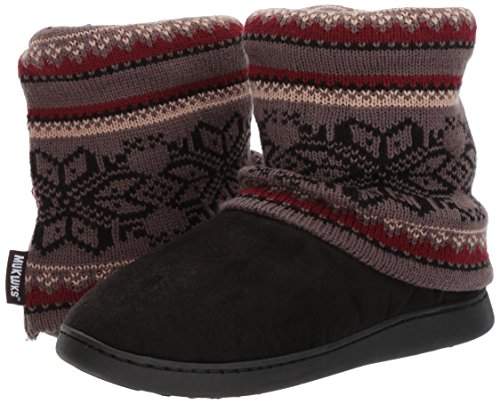 Pictures of MUK LUKS Women's Raquel Slippers-Charcoal, Medium M US 3
