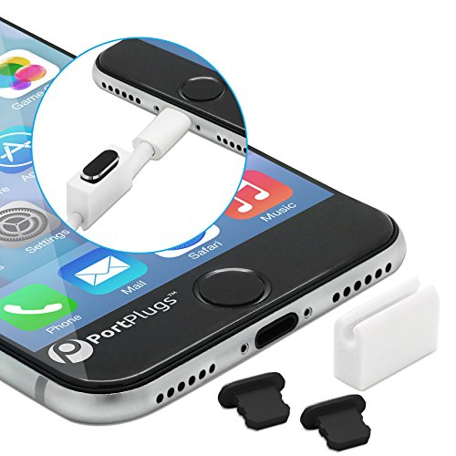 PortPlugs Aluminum iPhone Cleaning Holders
