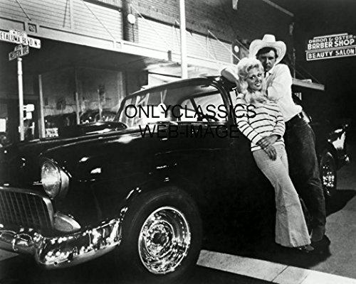 OnlyClassics American Graffiti Harrison Ford AS BOB FALFA 1955 Chevy 8X10 Photo HOT Rod - Harrison Ford American Graffiti