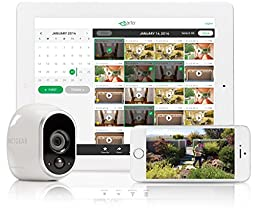 Arlo Security System - 3 Wire-Free HD Cameras, Indoor/Outdoor, Night Vision (VMS3330)