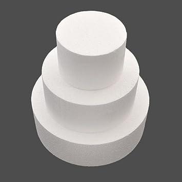 Baking Accs. & Cake Decorating Round Foam Polystyrene Cake Dummy Sugarcraft Flower Decor Practice Wedding Model