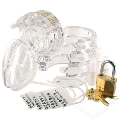 Compare to CB-6000S Male Chastity Device - Transparent (Short)