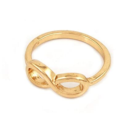 JEWH 2018 Wholesales Ring - Bijoux Fashion Lovely Infinity Lucky 8 Rings for Women - Wedding
