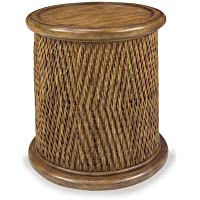 Round Woven Drum Table Tea