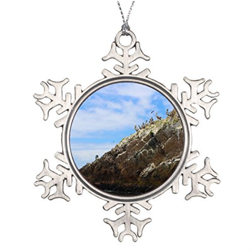 Metal Ornaments Personalised Christmas Tree Decoration Peru Tree Snowflake Ornaments