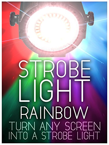 Strobe Light: Rainbow Colors - 5 Flashes Per Second - 4 Hours