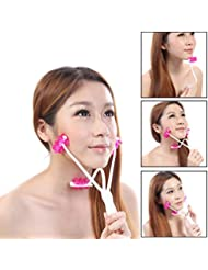 Face Up Roller Massager Facial Neck Slimmer Remove Chin...