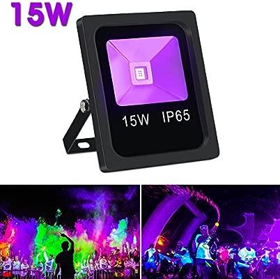 lalucenatz DJ luces con 27 W 9 colores ME-25 por mando a distancia ...