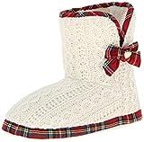 Isaac Mizrahi Women's Kendra Boot, Cream, Medium/8 M US