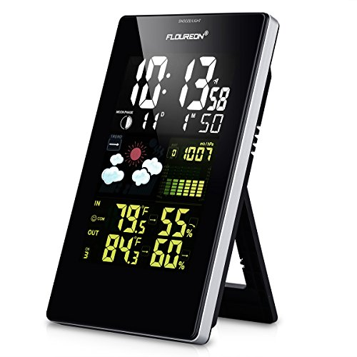 Floureon Wireless Home Weather Station Digital Color Forecast