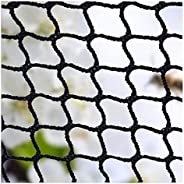 Stair Netting,Ball Stop Net Baby Stair Balcony Safety Kids Railing Ball Stopping Netting Nylon Backstop Goal N