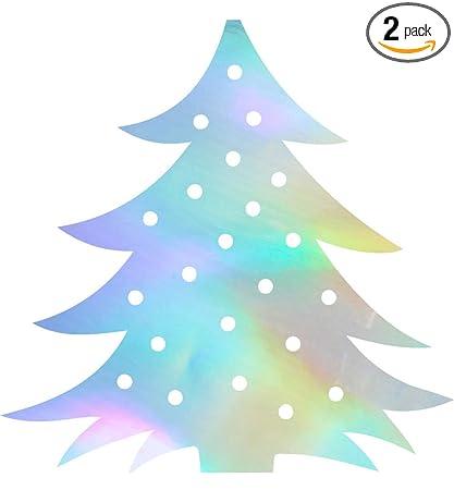 Holographic Christmas Tree.Amazon Com Angdest Christmas Tree Stencil Art Hologram