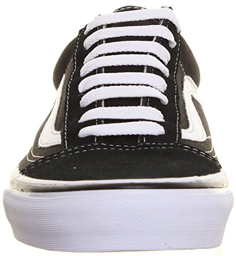 bianco Donna Black Skool Tela Stringate In M1 Vans Rosso Old White Sneaker Per Colore Skate Lo IAwFUOq