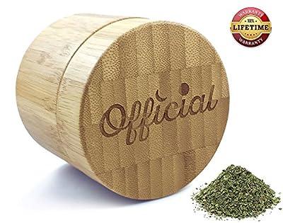 Bamboo Stash Jar