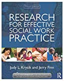 Research for Effective Social Work Practice, Krysik, Judy L. and Finn, Jerry, 0415521009