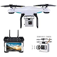 Drone with Camera Live Video, Teeggi SG600 WIFI FPV RC Quadcopter with 720P HD Camera, Altitude Hold Headless Mode One Key Off/Landing/Return 3D Flips
