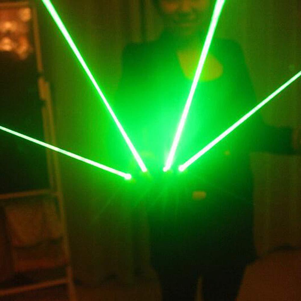 ANLW Gants /à LED illuminent des Gants de lumi/ère pour Quatre Doigts Adultes Clignotant Party Costume Glow Toys Cadeau danniversaire de No/ël