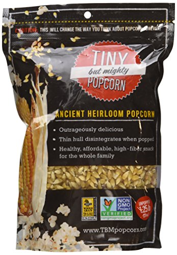 Tiny But Mighty Popcorn Ancient Heirloom Popcorn, Unpopped - 20 oz (Low Sodium Popcorn compare prices)