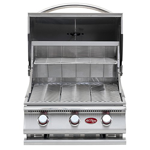 Cal Flame BBQ09G03 3 Burner Built In Grill No Conversion Kit